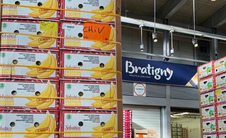 Bratigny don de bananes Selvatica aux hôpitaux de Créteil