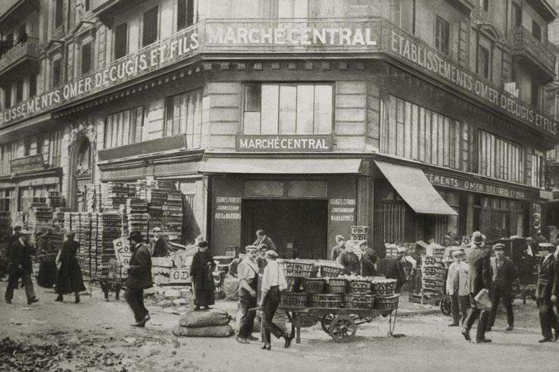 Les Halles Paris - Histoire Omer Decugis & Cie