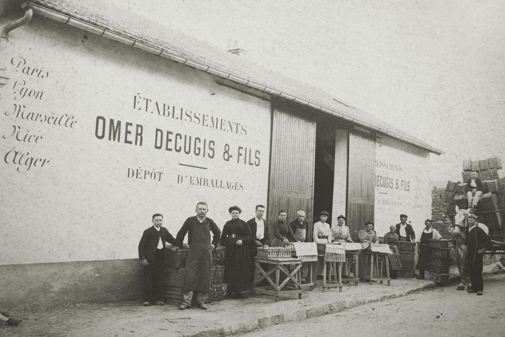 Leuville 1906 - Histoire Omer Decugis & Cie