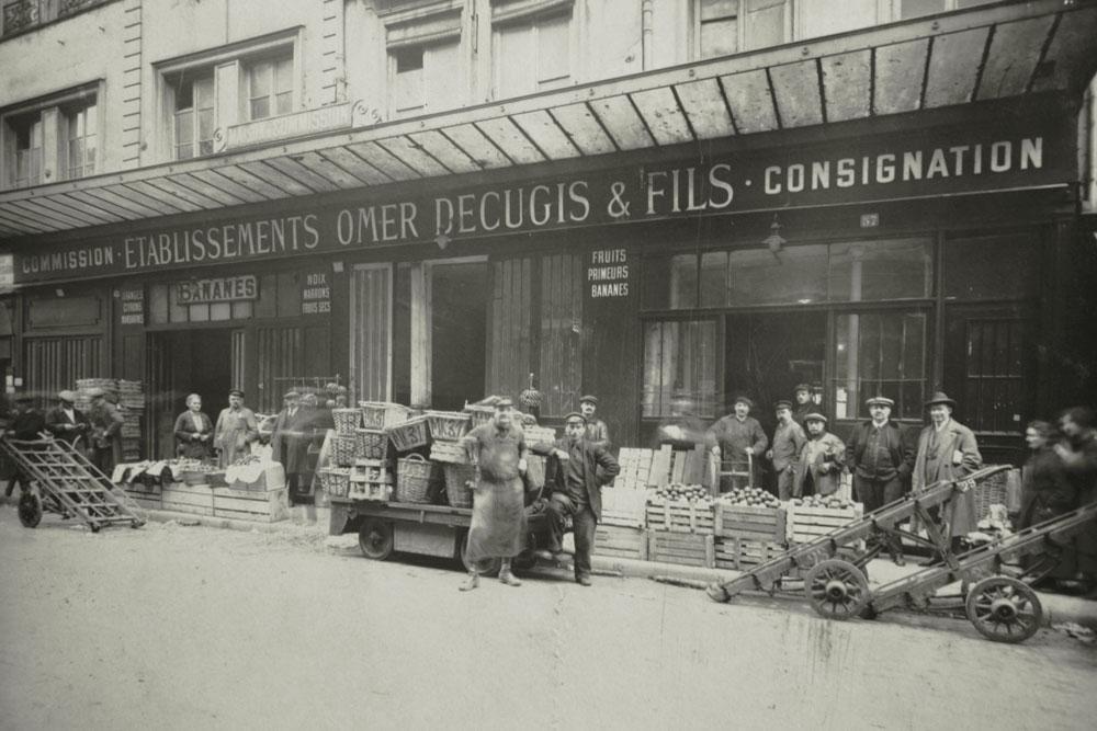 Les Halles, Paris 1er - Histoire Omer Decugis & Cie