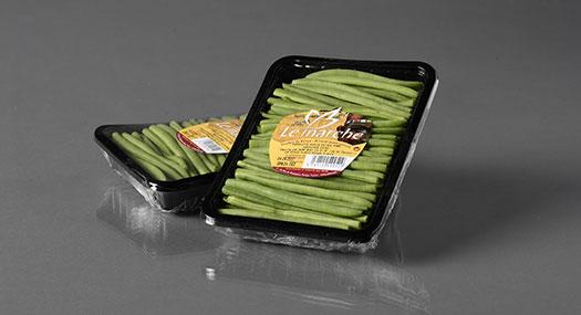 Haricots verts en barquette - Le Marché - SIIM - Omer Decugis