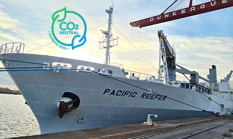 Ananas transport carbon neutral - Omer Decugis