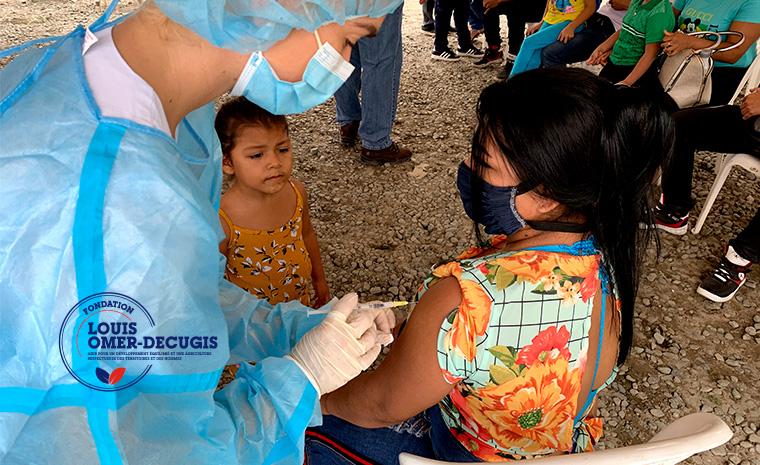 Fondation Louis Omer-Decugis - Vaccination Covid 19 en Equateur