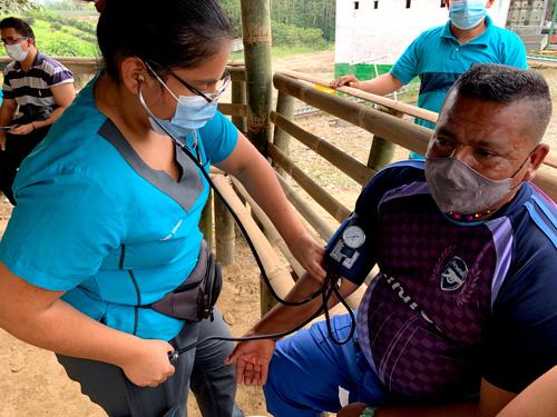 Louis Omer-Decugis Fundation: Covid-19 vaccination in Ecuador