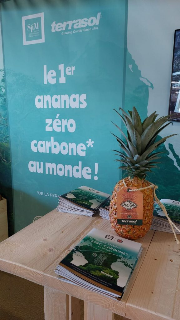 New SIIM stand carbon neutral pineapple