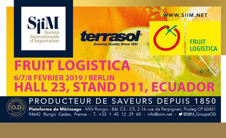 SIIM présente à Fruit Logistica 2019