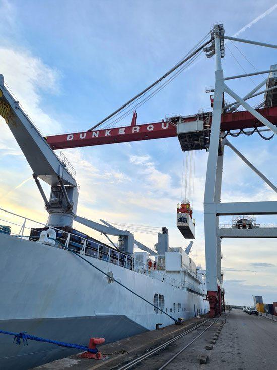 Transport maritime ananas Terrasol zero carbone